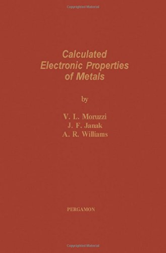9780080227054: Calculated Electronic Properties of Metals