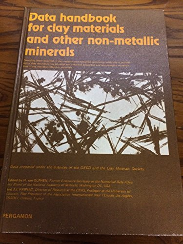 9780080228501: Data Handbook for Clay Materials and Other Non-metallic Minerals