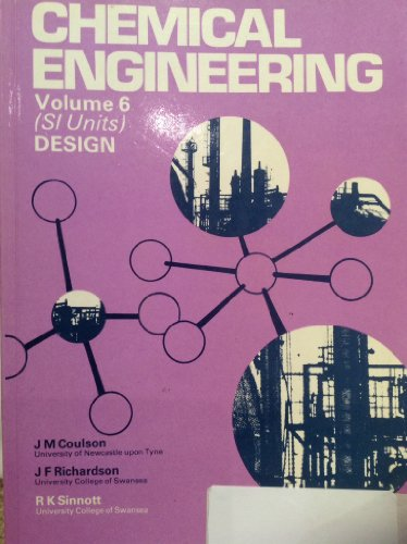 9780080229706: Chemical Engineering: An Introduction to Chemical Engineering Design v. 6 (Chemical Engineering Monographs)