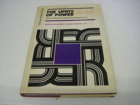 9780080230153: Limits of Power (Urban and regional planning series)