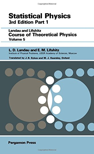 9780080230399: Statistical Physics: Pt. 1 (Course of Theoretical Physics)