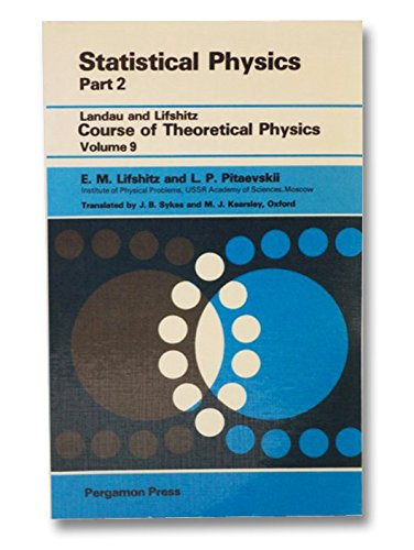 9780080230726: Statistical Physics, Part 2: Theory of the Condensed State