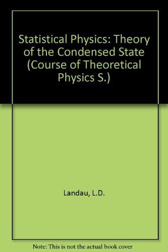 9780080230733: Statistical Physics, Part 2: Theory of the Condensed State