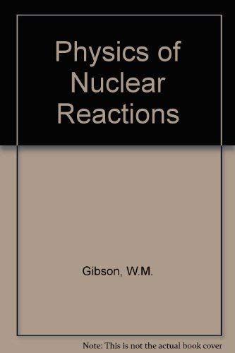 9780080230771: Physics of Nuclear Reactions (Pergamon International Library of Science, Technology, Engin)