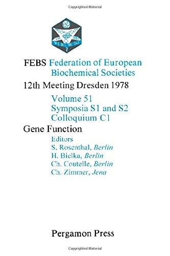 9780080231754: Federation of European Biochemical Societies Proceedings: Gene Function 12th Meeting (Proceedings of the 12th FEBS meeting ; [v. 6])