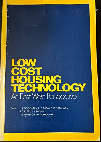 9780080232492: Low-cost housing technology: An east-west perspective