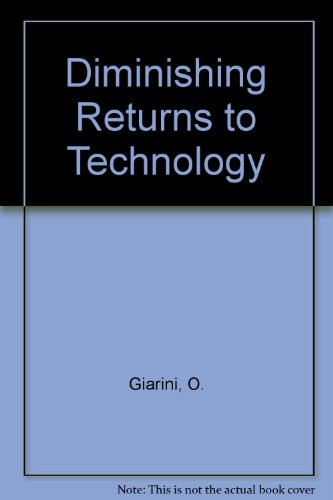 9780080233376: Diminishing Returns to Technology (Pergamon international library of science, technology, engineering, and social studies)