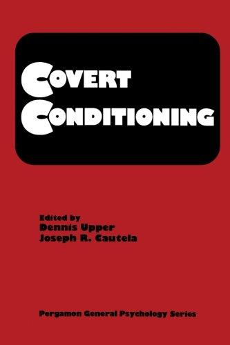 9780080233468: Covert Conditioning: Pergamon General Psychology Series, Volume 81 (Pergamon General Psychology Series ; V. 81)