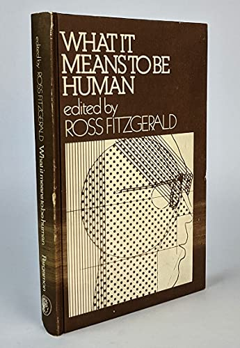 9780080233567: What It Means to Be Human
