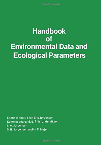 9780080234366: Handbook of Environmental Data and Ecological Parameters (Environmental sciences and applications)