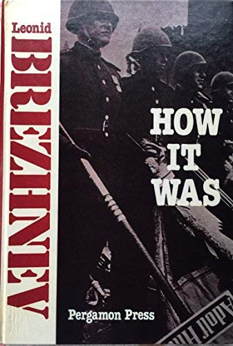 9780080235790: How It Was: The War and Postwar Reconstruction in the Soviet Union