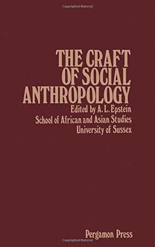 9780080236933: Craft of Social Anthropology