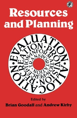 9780080237107: Resources and Planning: Pergamon Oxford Geographies