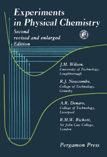 9780080237985: Experiments in Physical Chemistry: Second Revised and Enlarged Edition (Pergamon international library)