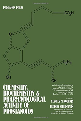 Chemistry, Biochemistry and Pharmacology of Prostanoids: Symposium Proceedings: Pergamon Press