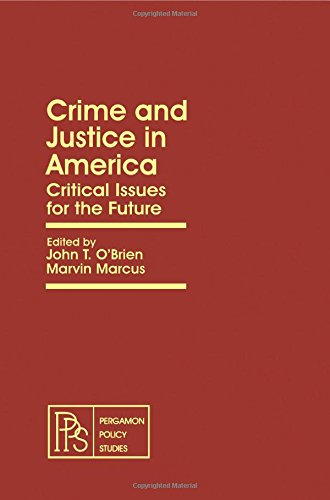 9780080238579: Crime and Justice in America (Pergamon policy studies on crime and justice)