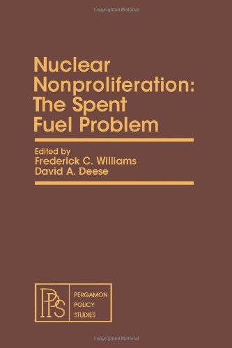 9780080238876: Nuclear Nonproliferation: The Spent Fuel Problem (Pergamon policy studies on energy and environment)