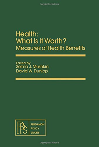 9780080238982: Health: What Is It Worth? (Pergamon policy studies ; no. 23)