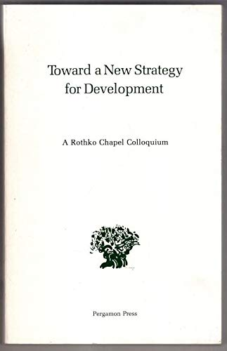9780080239125: Towards a New Strategy for Development