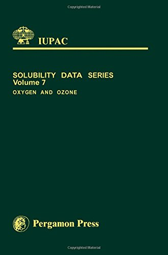 9780080239156: Oxygen and Ozone (Solubility Data)