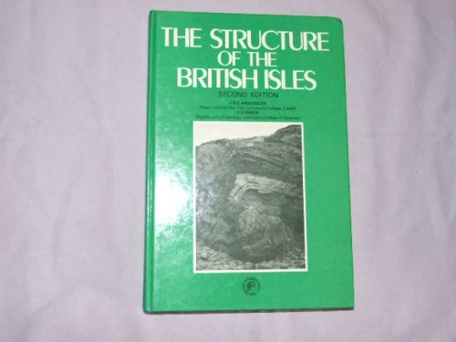 9780080239989: The Structure of the British Isles (Pergamon International Library of Science, Technology, Engineering & Social Studies)