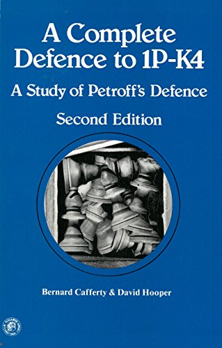 9780080240893: Complete Defence to 1P-K4: Study of Petroff's Defence (Pergamon international library of science, technology, engineering, and social studies)