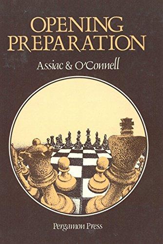 9780080240954: Opening Preparation (Pergamon Chess Series)