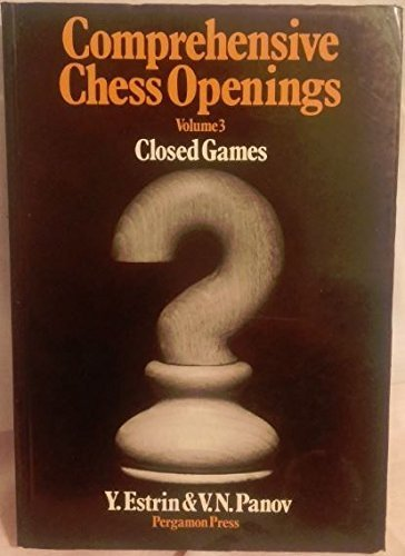 9780080241111: Comprehensive Chess Openings: v. 3 (Pergamon Russian Chess)