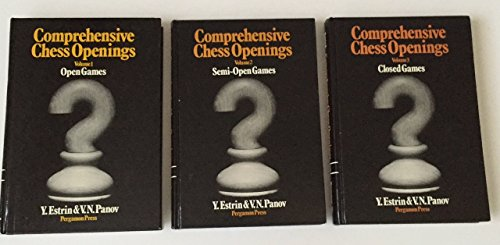 9780080241142: Comprehensive Chess Openings (Pergamon-Russian Chess Series)