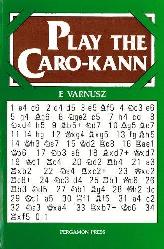 9780080241302: Play the Caro-Kann (Pergamon chess openings)