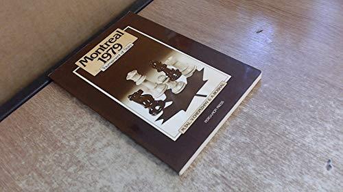 9780080241319: Montreal 1979: Tournament of Stars (Pergamon Russian Chess Series)