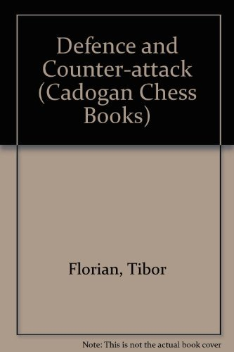9780080241432: Defence and Counter-Attack (Pergamon Chess Series)