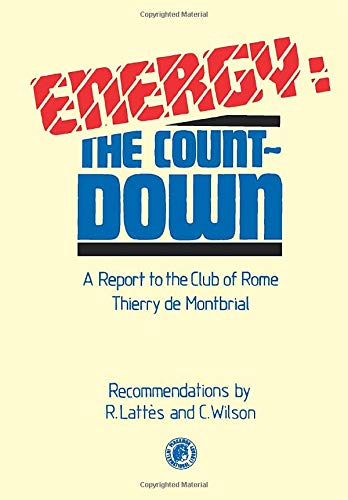 9780080242248: Energy, the Countdown: A Report to the Club of Rome