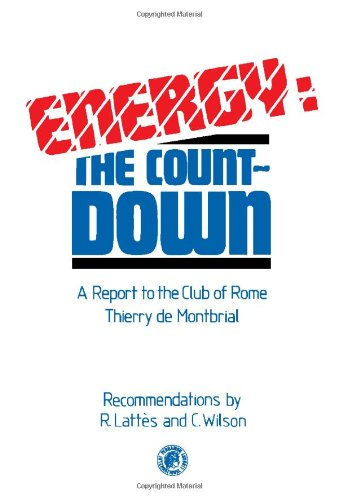 Energy: Countdown (Pergamon international library of science, technology, engineering, and social ...