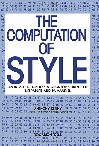 9780080242828: Computation of Style (Pergamon international library of science, technology, engineering, & social studies)