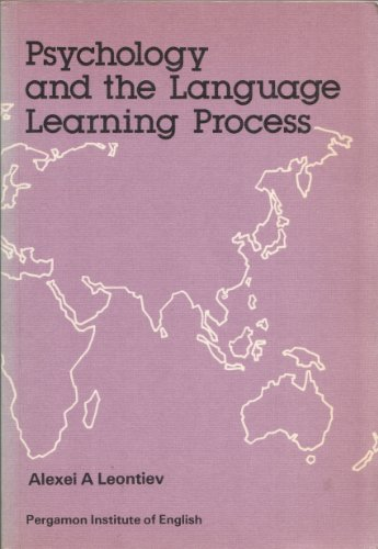 9780080246000: Psychology and the Language Learning Process (Language teaching methodology series)