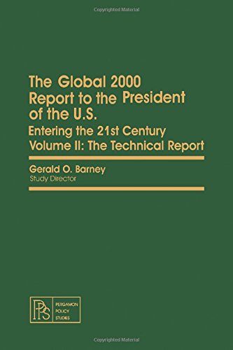 9780080246185: The Global 2000 Report to the President of the U.S., Entering the 21st Century: A Report