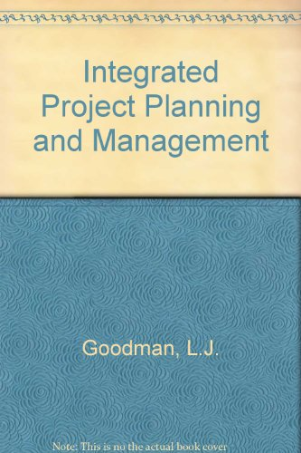 9780080246673: Integrated Project Planning and Management (Pergamon policy studies on socio-economic development)