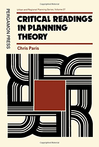 9780080246819: Critical Readings in Planning Theory (Urban & Regional Planning)