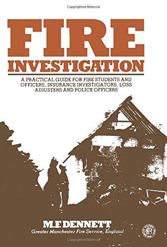 9780080247410: Fire Investigation (Pergamon international library)