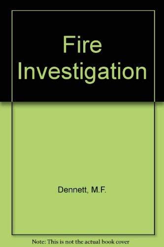 9780080247427: Fire Investigation