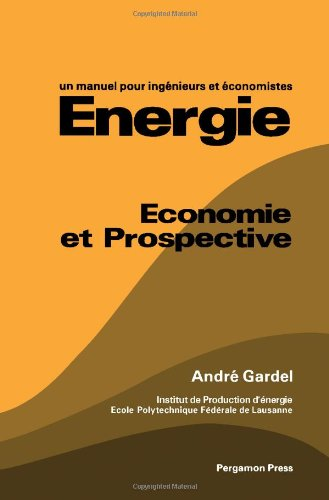 9780080247823: Energy: Economy and Prospective - A Handbook for Engineers and Economists (French Edition)