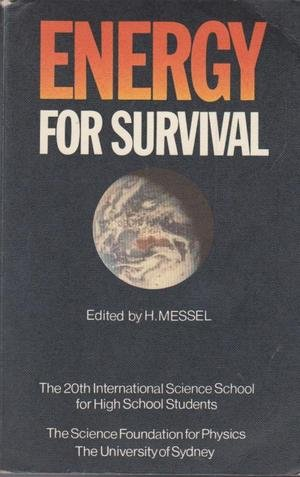 9780080247915: Energy for survival