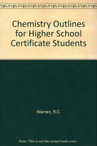 9780080248325: Chemistry Outlines for Higher School Certificate Students