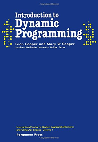 9780080250656: Introduction to Dynamic Programming (Pergamon International Library of Science, Technology, Engineering & Social Studies)