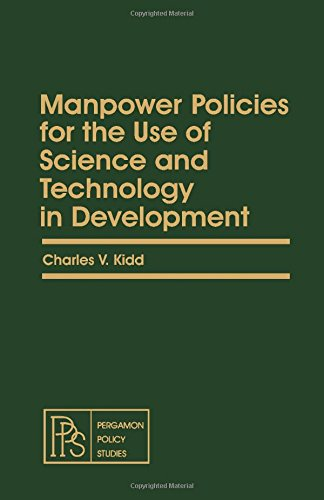 9780080251240: Manpower Policies for the Use of Science and Technology in Development (Pergamon policy studies on socio-economic development)