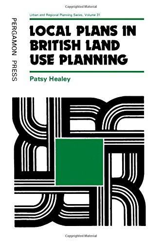 9780080252421: Local Plans in British Land Use Planning (Urban & Regional Planning)