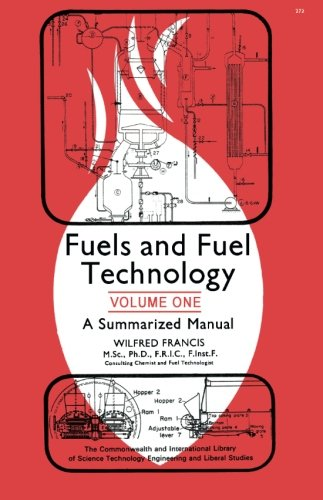 9780080252506: Fuels and Fuel Technology: A Summarized Manual in Two Volumes (Volume 1)