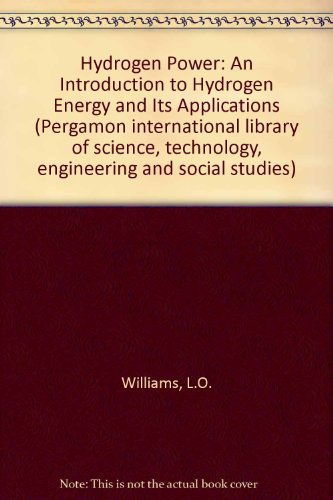 9780080254227: Hydrogen Power: An Introduction to Hydrogen Energy and Its Applications
