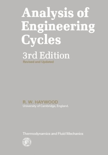 9780080254401: Analysis of Engineering Cycles